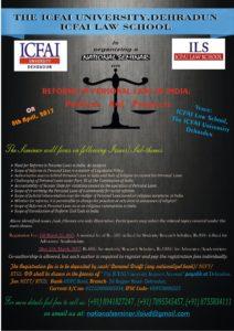 ICFAI-DEHRADUN-National-Seminar-Poster-2017