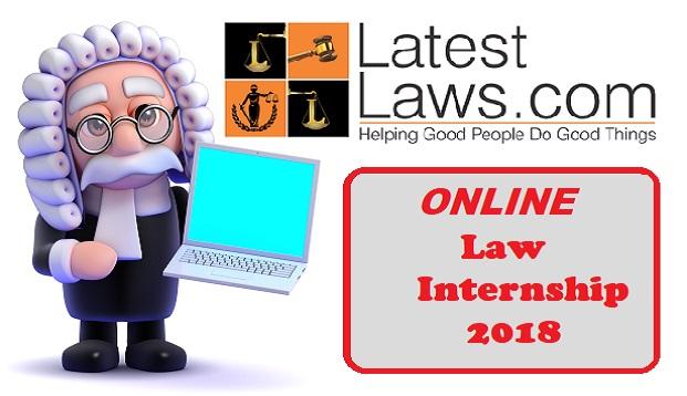 Latest Laws Online Law Internship,2018